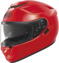 Shoei GT Air Shine Red  - FREE Dark Visor