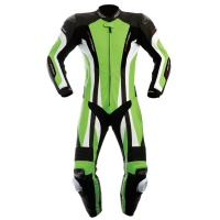 RST Pro Series CPX-C Green One Peice Leather Suit