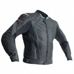 RST R-18 CE Leather Jacket - Black