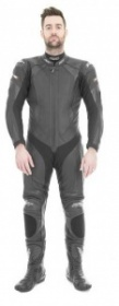 RST R-16 One Piece Leather Suit  Black