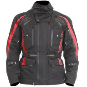 RST Pro Series Paragon 5 Textile Jacket - Black&Red