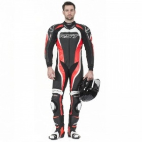 RST Tractech Evo 2 One Piece Suit - Red - FREE Back Protector