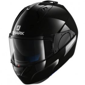 Shark Evo-One Blank Helmet - Gloss Black