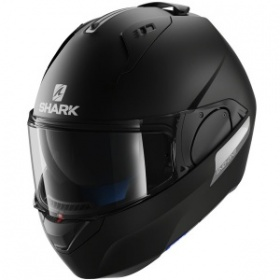 Shark Evo-One Blank KMA Helmet - Matte Black