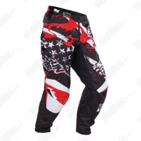 Shot Textile Trousers Freegun U.S. Kid - Red