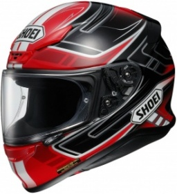 Shoei NXR Valkyrie TC-10 Red/Black