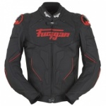 Furygan Raptor Leather Jacket - Black/Red