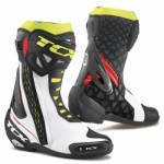 TCX RT-Race Boots - Whi/Red/Yel/Flu