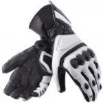 Dainese Pro Carbon Leather Race Glove White