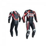 RST Tractech Evo R CE One Piece Leather Suit - Flo Red