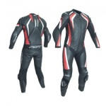 RST R-18 CE One Piece Leather Suit - Red