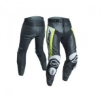 RST Tractech Evo R CE Leather Jeans - Black/Fluo Yellow