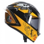 AGV Corsa Guy Martin Rep-Free Dark Race Visor !