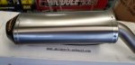 Akrapovic Honda CBR1000RR 06-07 Titanium Carbon Cap Slip-On Silencer