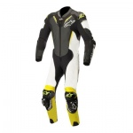 Alpinestars Atem V3 1 Piece Leather Suit Blk Wht & Yel