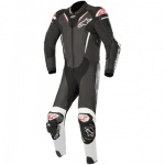 Alpinestars Atem V3 1 Piece Leather Suit BlK & WhT