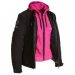 Bering Jaap Ladies Textile Jacket Pink