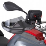 Givi EH5108 BMW R1200 GS 2013-17 Smoked Plexiglass Extension for O.E. Hand Guards.