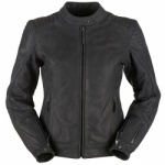 Furygan Debbie Ladies Buffalo Leather Jacket BLK