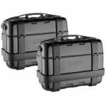 Givi TRK33 Trekker Black Line 33ltr 2 x Monokey Side Cases