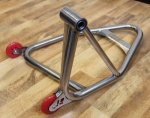 HARRIS STAINLESS STEEL''SINGLE SIDED''REAR PADDOCK STAND