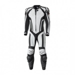 Held Fast Pace 1 Piece Leather Suit -  White Black