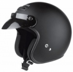 Held Rune Black Matt Helmet