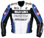 JOE ROCKET SUZUKI LEATHER JACKET