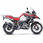 Leo Vince BMW R1200GS / Adventure 17-18 Nero Slip-on Silencer