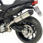 BMW F800 R/GT 2009-15 Leo Vince LV-One Stainless Steel S/On Silencer