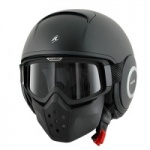Shark Raw Matt KMA Black Helmet