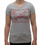 Red Torpedo Guy Martin Chalkskull  Girls T