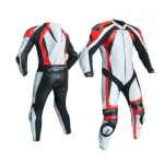 RST Pro Series CPX-C 2 Flou Red One Peice Leather Suit