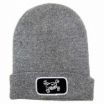 Red Torpedo Guy Martin Spanners - Beanie Grey