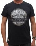 Red Torpedo Road Racer T Black