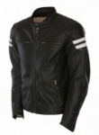 Segura Retro Leather Jacket Black