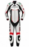 Spidi Track Wind Pro 'Italy' one piece - White Red Green