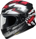 Shoei NXR Variable - TC1 - Black/Red - FREE Dark Visor