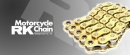 RK Chain 520-525-530 x 120L Gold GXW Extreme Performance Chain