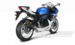 Akrapovic Complete Race System Carbon E-Marked Silencer GSXR 600 2011 Requires Fuel Enrichment