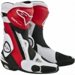 Alpinestars SMX Plus Boots Red White