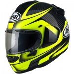 Arai Chaser-X Tough Yellow - FREE Race Visor
