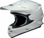 Shoei VFX W Plain White