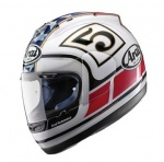 Arai Chaser-X Edwards Replica - White