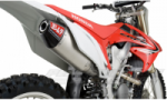 Honda CRF250R 11/13 Yoshimura Full System - RS-4 Silencer- Stainless Header Aluminium Silencer - Carbon End Cone