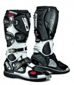 Sidi Crossfire MX Boots Black White
