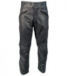 Richa Cafe leather Trousers - Black