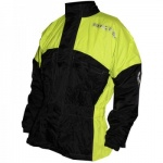 Richa Rain Warrior Jacket - Black&Fluor