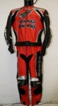 SCOTT HONDA RACING 2pc Suit Red