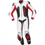 Held Slade Red White 1 Piece Leather Suit